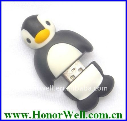 Special Animal USB Flash Drive Penguin Style