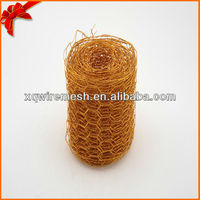 Craft wire made color art wire mesh(hexagonal)