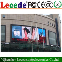 16mm giant outdoor Big Advertising P10 Full Color Outdoor LED Screen/LED Display