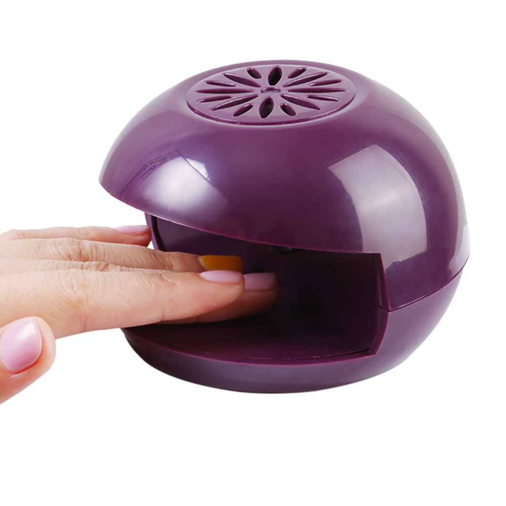 Nails beauty supply 2017 Curing Lamps Light Finger Portable Mini Nail Dryer Fan for Personal or Nail Beauty Salon