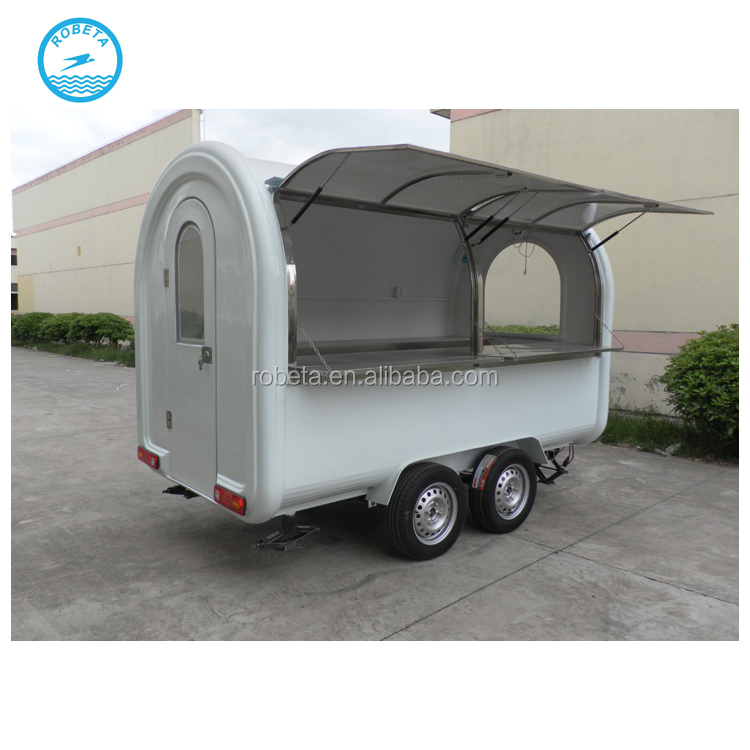 new mobile fast food kiosk carts for sale/ mobile food trailers food stall