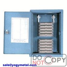 Outdoor 9 gang polycarbonate meter box