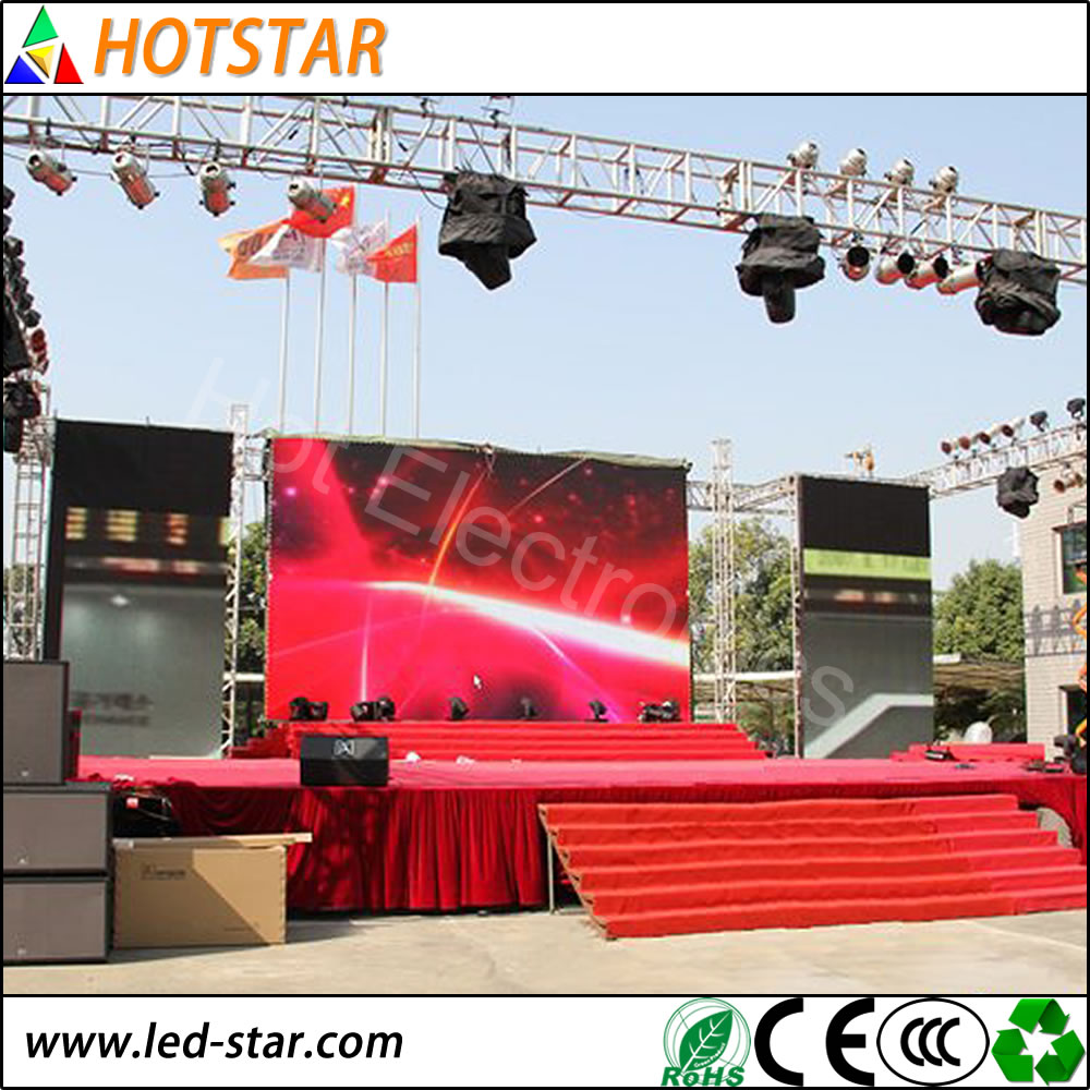 Outdoor LED Display Board Broadcasting TV
