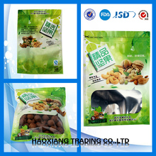 Shenzhen packaging supplier heat seal printable custom food vacuum plastic bag