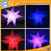 Party decoration led inflatable star with led light