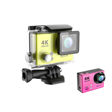 2016 Ultra 4K Wifi H2 Action Camera Full HD 1080P Video Waterproof Helmet Cam 2.0 LCD Extreme Sport Cameras DV
