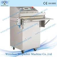 VS-600E S/S Body Automatic External Stand Type Industrial Food Jar Vacuum Packing Sealer Machine