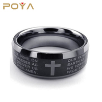 POYA Jewelry Top Quality Mens Tungsten