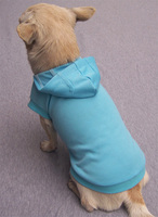 Blue Blank Pet T-Shirts Hoodies Summmer Plain Dog Clothes Wholesale [FD028D]