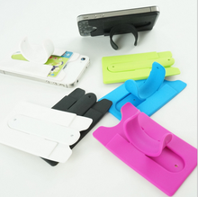 3M sticky pocket silicone mobile phone holder