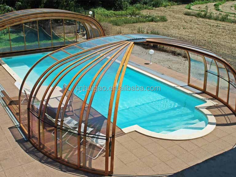 Retractable Aluminum sunroom / Retractable Roof / Pool Covers
