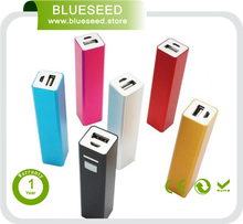Disposable phone charger power bank 5V 1.5A external mobile charger battery pack