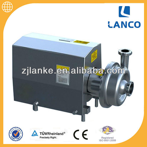 BS Sanitary Food Grade Centrifugal Pump