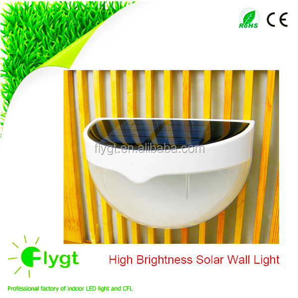 Long working time good quality energy-saving super bright solar front door led light with motion sensor Feili lighting