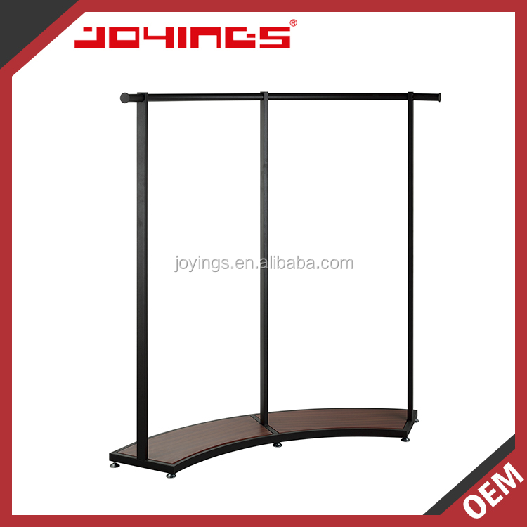 Floor Standing Boutique Display Rack Clothing Store Boutique Rack