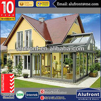 High Quality Aluminium Glass Garden House made in China with AS standard