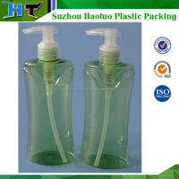 250ml plastic shampoo bottle with Pump