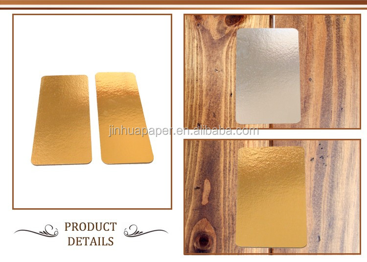 New Waxed Doublewall Cake Cardboards with factory price