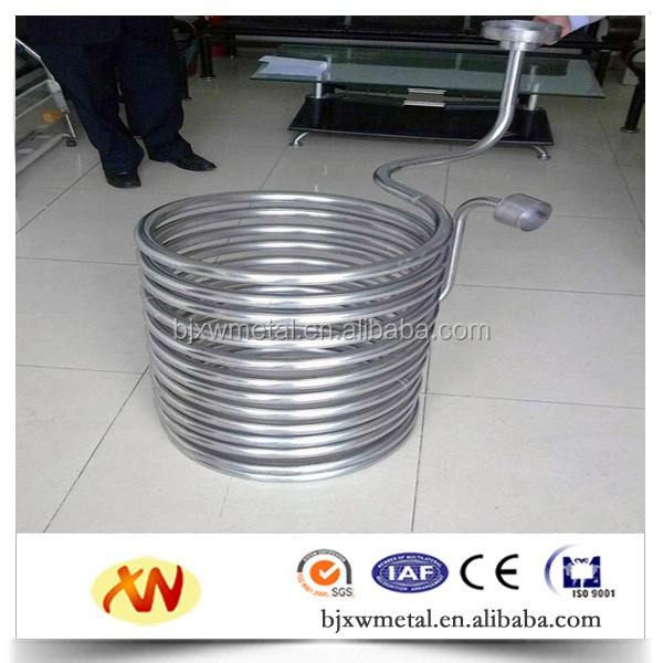 Factory supply titanium coil tube heat exchanger hot sell with cost effective