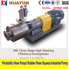 Chemical Process Pump, Inline High Shear Mixer, Emulsification Pump Pipeline Type High Speed Disperser/Mixer/Emulsifier Pump