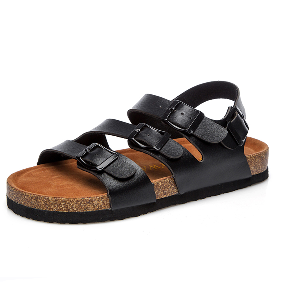 2018 Woman <strong>sandals</strong> new design and ladies cork footbed <strong>sandals</strong> 883