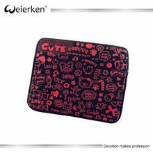 fashion soft neoprene computer laptop tablet case for women man