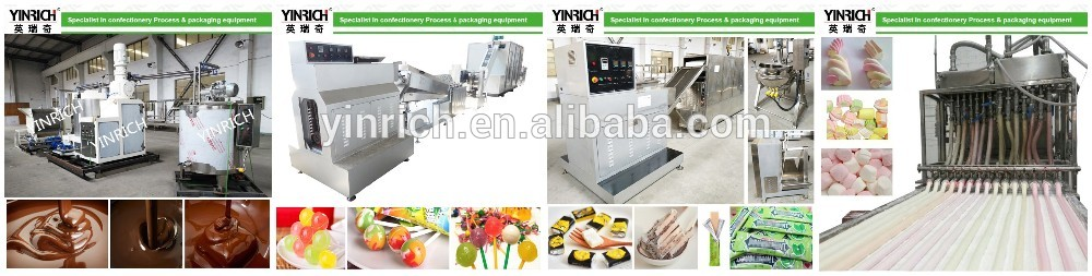Fully Automatic candies machinery