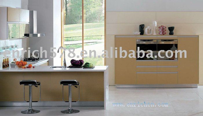 Lacquer kitchen cabinets/paint baked kitchen cabinet