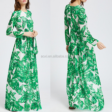 necked girl photo african style summer long sleeve beautiful indian block print maxi dress with belt