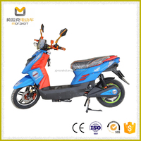 Popular Steel High Performance 800W Electric Motorcycle with Powerful Motor