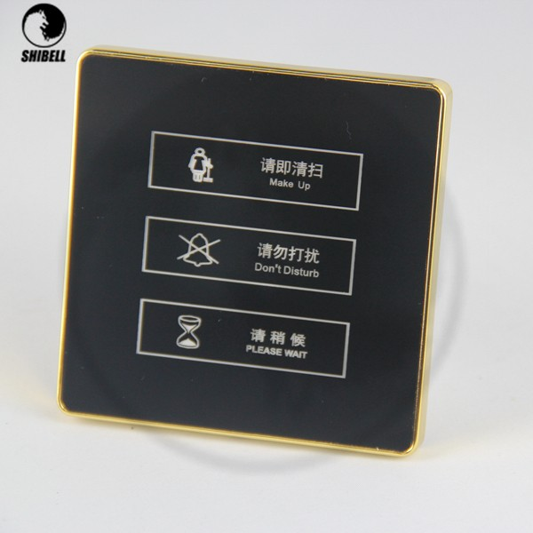 SHIBELL Hotel Doorbell with Touch Panel, Do Not Disturb, Dnd Doorbell System