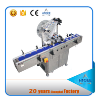 HIGEE best price economy full automatic hot melt glue labeling equipment