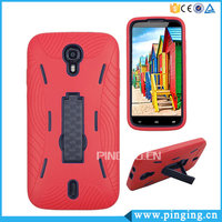 2 In 1 PC + TPU Robot Armor Kickstand Case For Blu Studio M HD