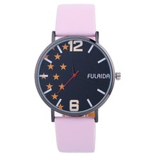 Hot Sale Simple Leather women Watches Collection Wholesale Large Face Buy Wrist Watch
