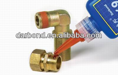 Red Solvent Resistant Thread Sealant/Compound for Under M80