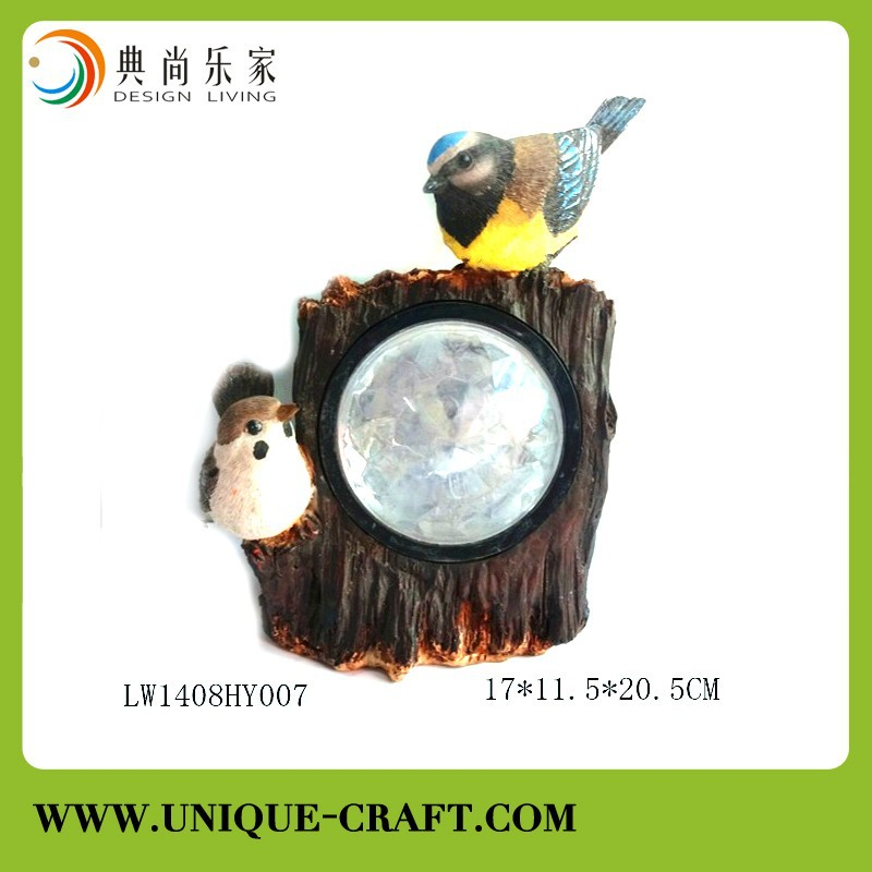 Hotsale polyresin gnome solar light garden decoration
