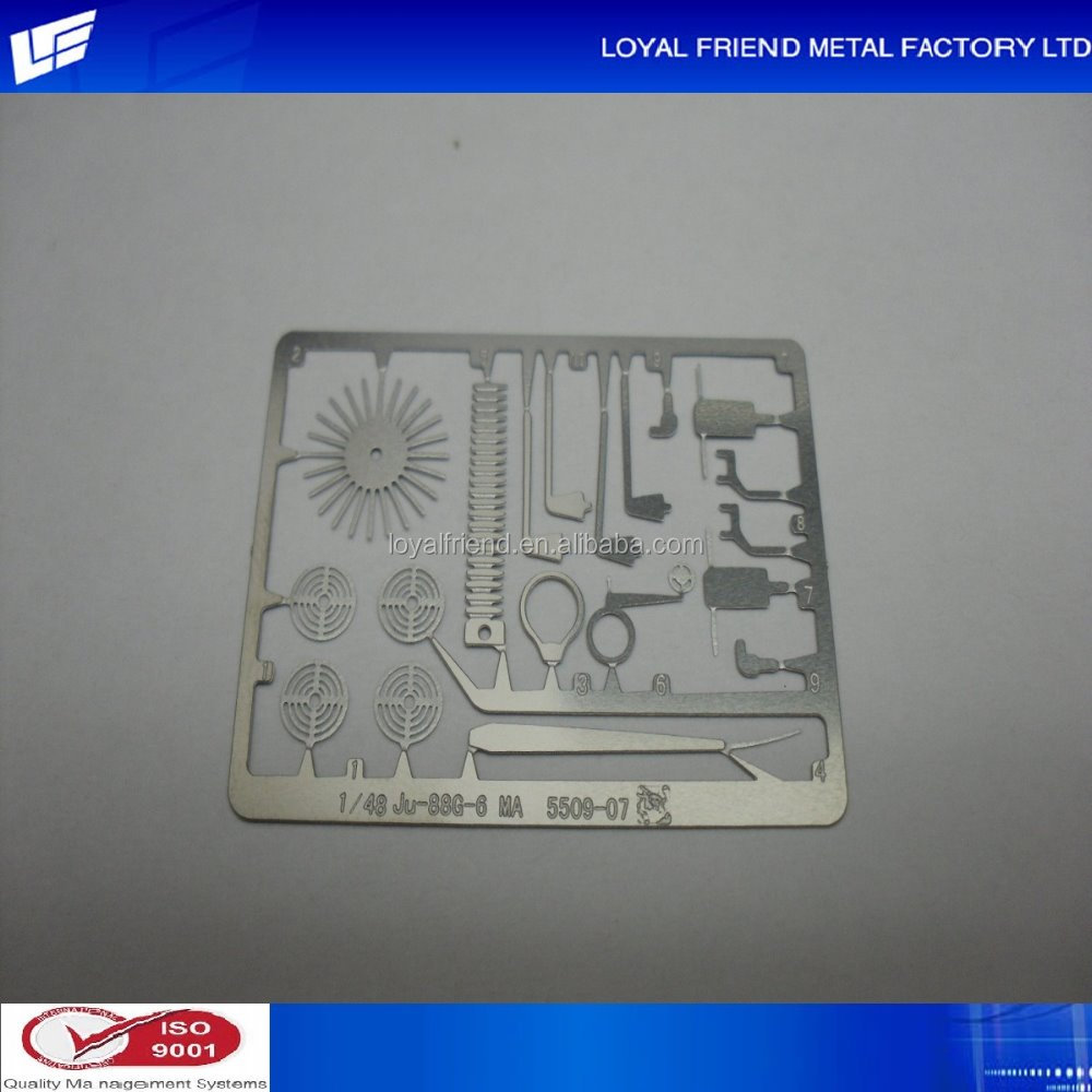 Hot Selling Natural Silver Electronic Plating Train Model Accessories