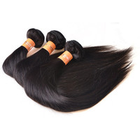 OEM Accept Xuchang Factory Direct Silky Straight Wholesale Virgin Brazilian Hair Weave