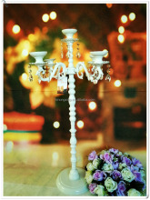 C-T007 crystal candelabras White Wedding Decoration Event Candelabra