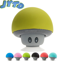 Portable Mushroom Waterproof Stereo Bluetooth Speaker for Mobile Phone Computer
