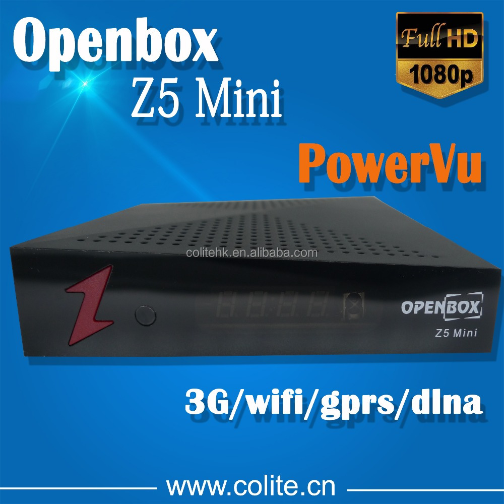Manufacturer Original Openbox Z5 Mini Full HD DVB-S2 Satellite Receiver with PowerVu Path Free IPTV IKS