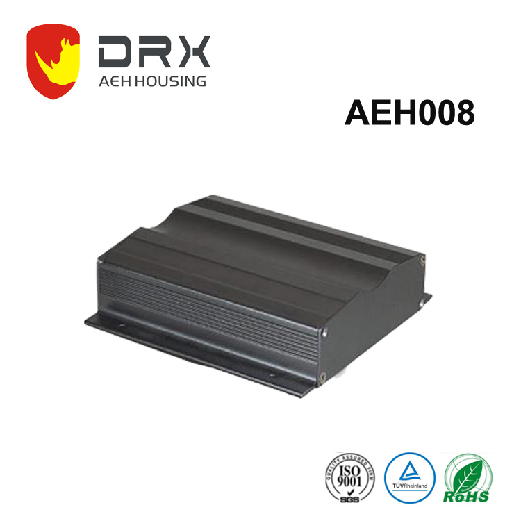 High quality aluminium electrical enclosure / instrument box /electrical cabinet for electronics made by extrusion