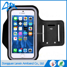 OEM/ODM adjustable gym armband case for iphone 6/6s with Key Holder