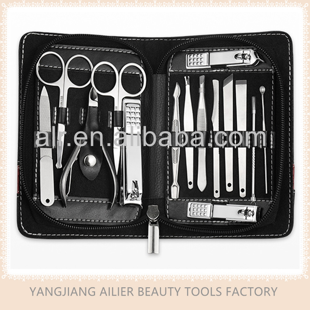 High Quality Stainless Steel Manicure Set, Nail Tools And Gromming Kit For Beauty And Personal Care