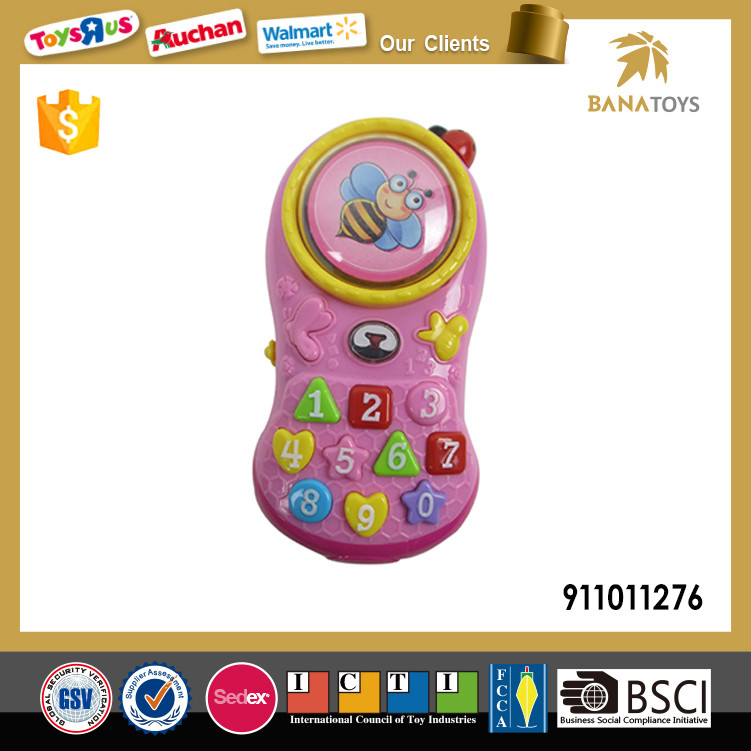Hot Sell Plastic Toy Cell Phone for Baby