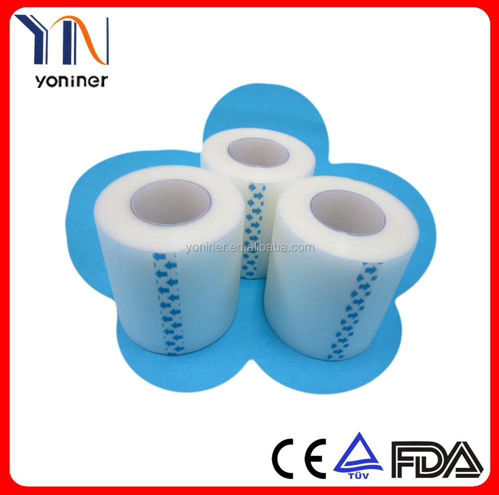 Transpore clear waterproof surgical tape( PE tape )