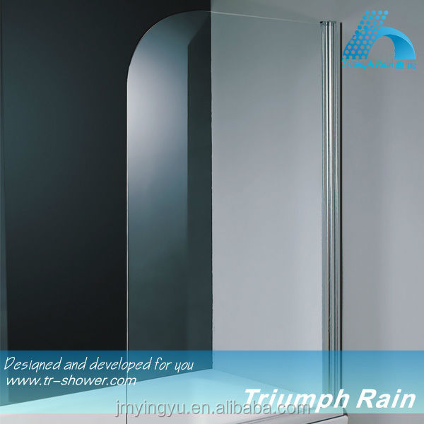 AOOC1506CL top sell tempered glass bath shower screens