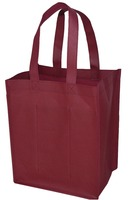 wine tote bag, 4 OR 6 or 1.5l bottle Professional non woven Wine Bag/wine cooler bag