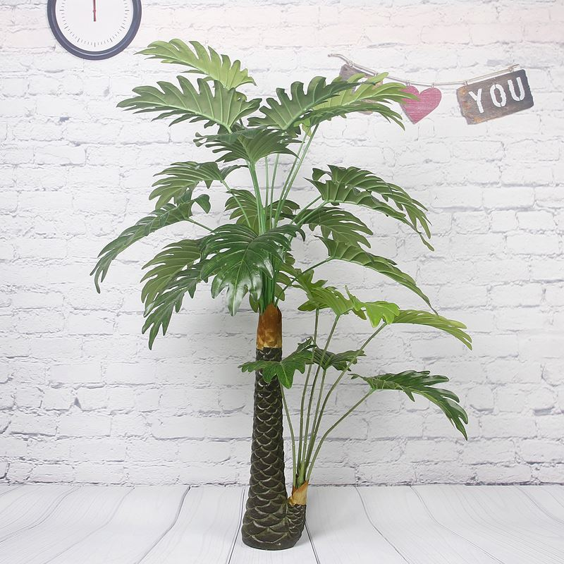 Hot sale vivid long time lasting event use green artificial plants and trees