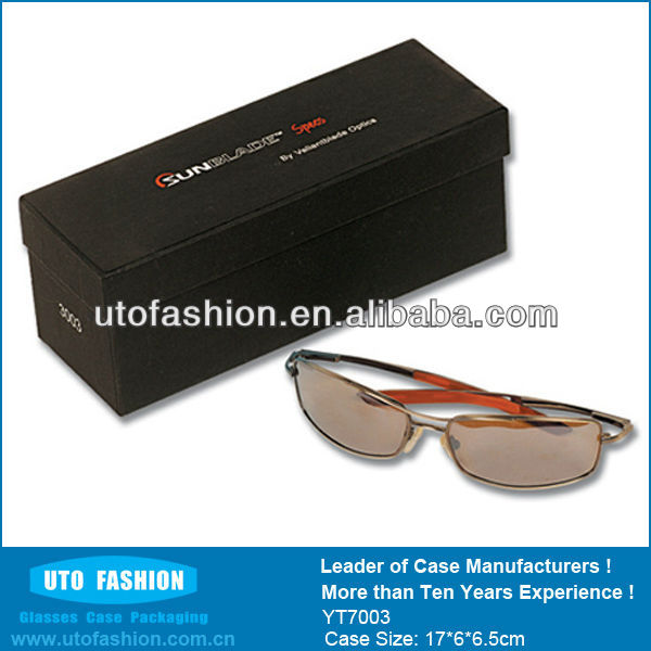 YT7003 lined paper with picture box for designer sunglasses case
